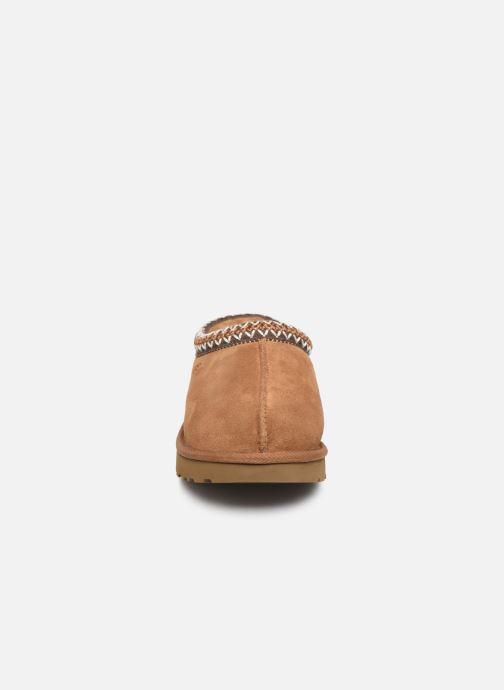 Pantofole UGG Tasman Marrone modello indossato