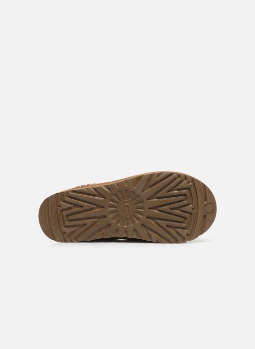 Pantofole UGG Tasman Marrone immagine dall'alto