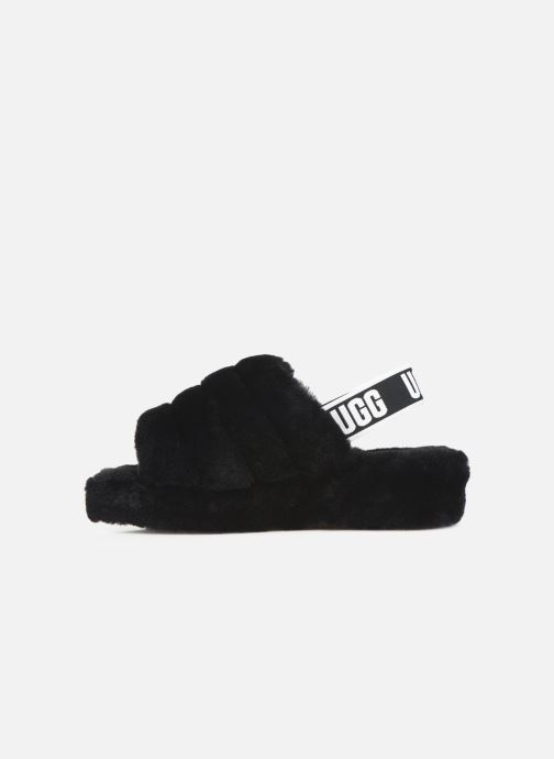 Slippers UGG Fluff Yeah Slide Black front view