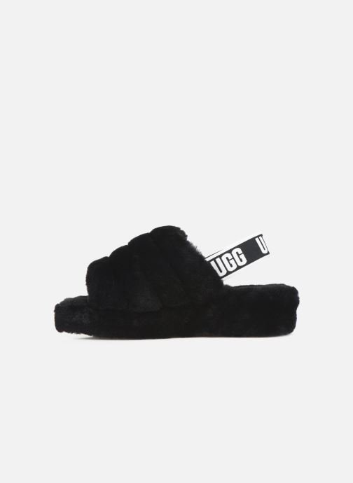 Pantofole UGG Fluff Yeah Slide Nero immagine frontale
