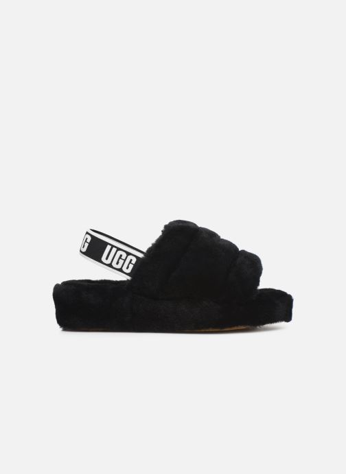 Pantofole UGG Fluff Yeah Slide Nero immagine posteriore