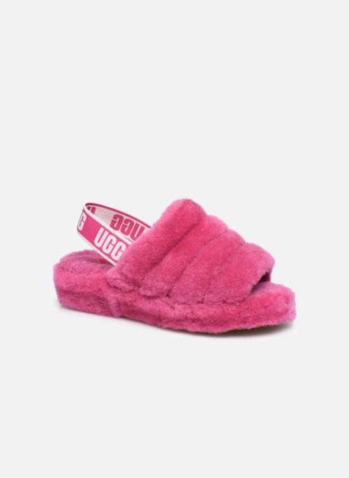 Hausschuhe UGG Fluff Yeah Slide rosa detaillierte ansicht/modell