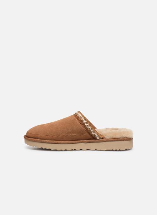 Pantofole UGG Tasman Slip-On Marrone immagine frontale