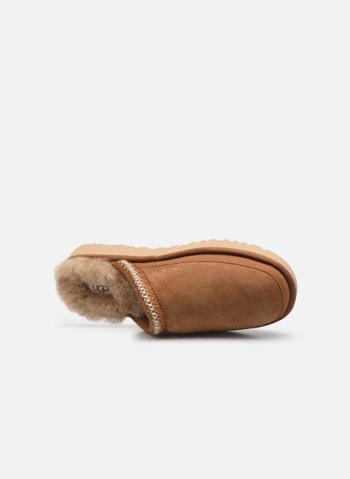 Pantofole UGG Tasman Slip-On Marrone immagine sinistra