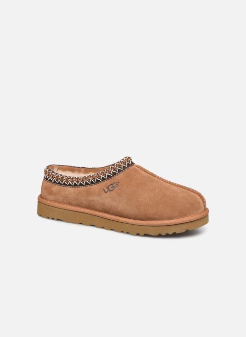 Hjemmesko UGG Tasman Brun detaljeret billede af skoene