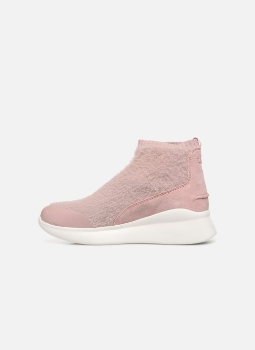 Sneakers UGG Griffith Roze voorkant