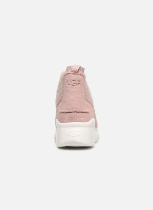 Baskets UGG Griffith Rose vue droite