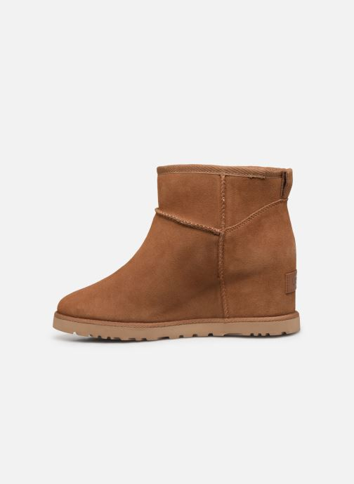 Bottines et boots UGG Classic Femme Mini Marron vue face