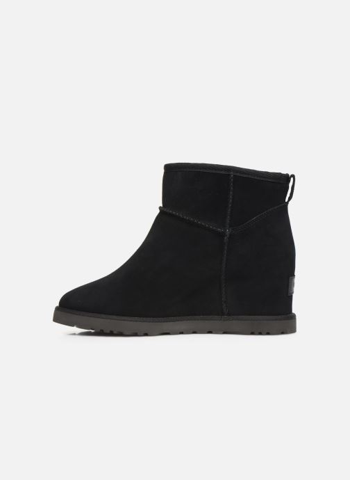 Ankle boots UGG Classic Femme Mini Black front view