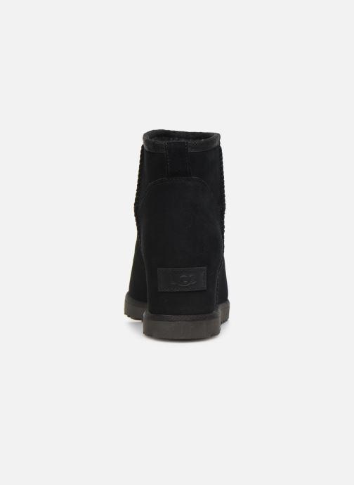 Bottines et boots UGG Classic Femme Mini Noir vue droite