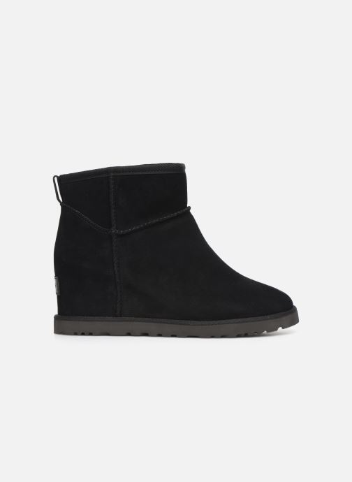 Ankle boots UGG Classic Femme Mini Black back view