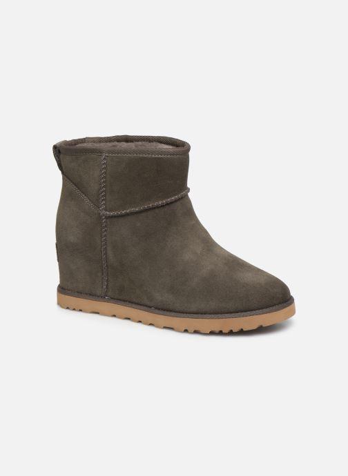 Bottines et boots UGG Classic Femme Mini Gris vue détail/paire