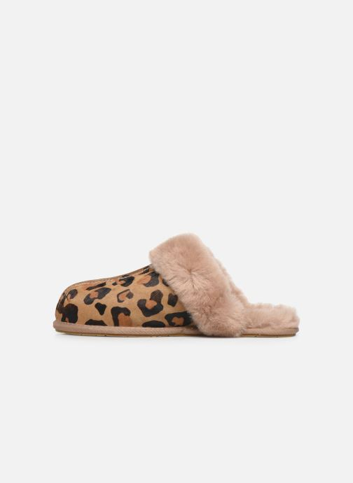 Slippers UGG Scuffette II Leopard Brown front view