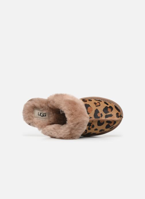 Slippers UGG Scuffette II Leopard Brown view from the left