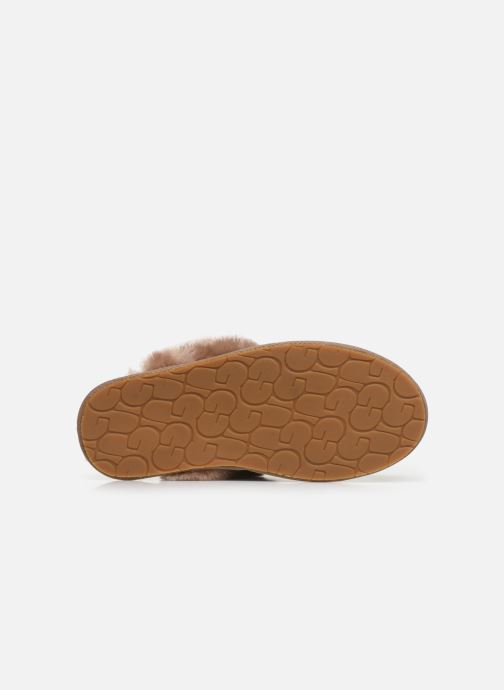 Slippers UGG Scuffette II Leopard Brown view from above