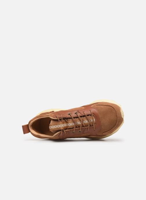 Baskets UGG Miwo Trainer Low Marron vue gauche