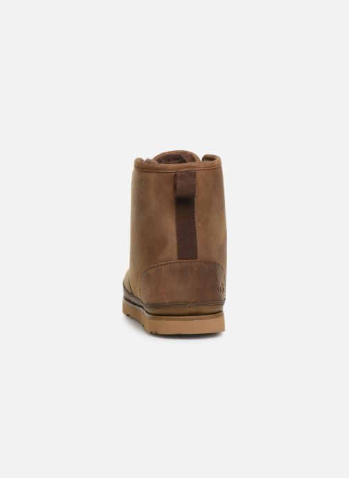 Botines  UGG Harkley Waterproof Marrón vista lateral derecha