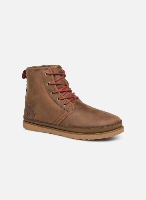 Bottines et boots UGG Harkley Waterproof Marron vue détail/paire
