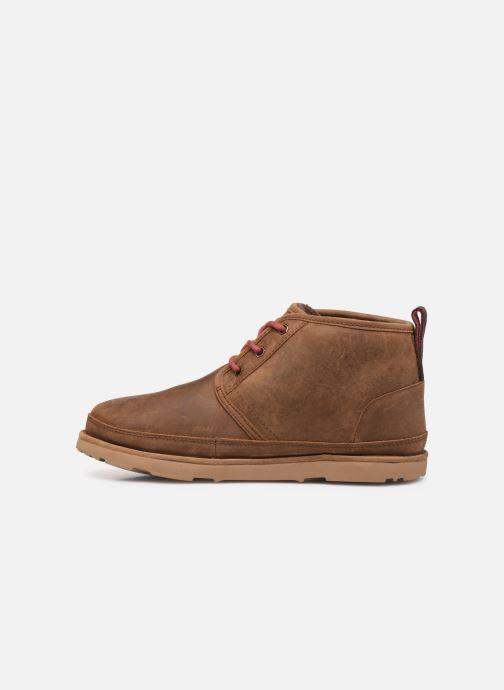 Boots en enkellaarsjes UGG Neumel Waterproof Bruin voorkant