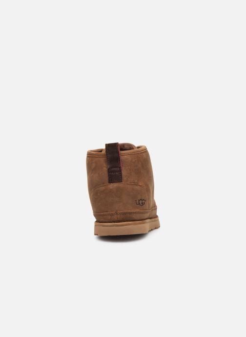 Bottines et boots UGG Neumel Waterproof Marron vue droite
