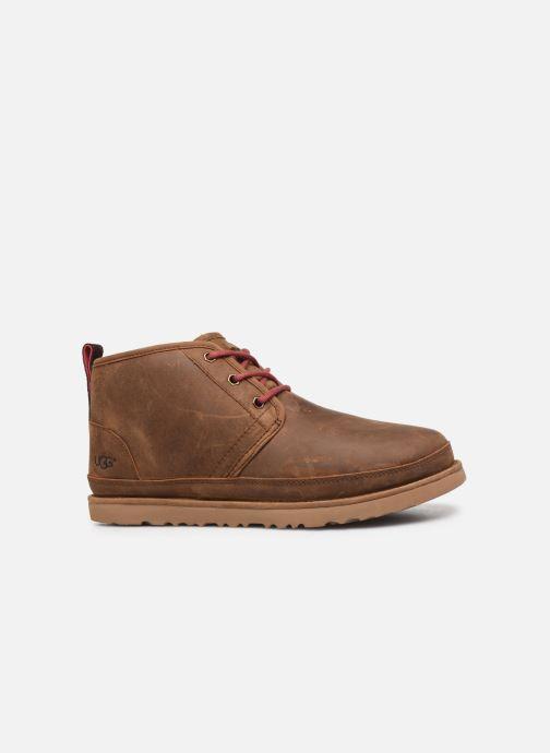 Stiefeletten & Boots UGG Neumel Waterproof braun ansicht von hinten