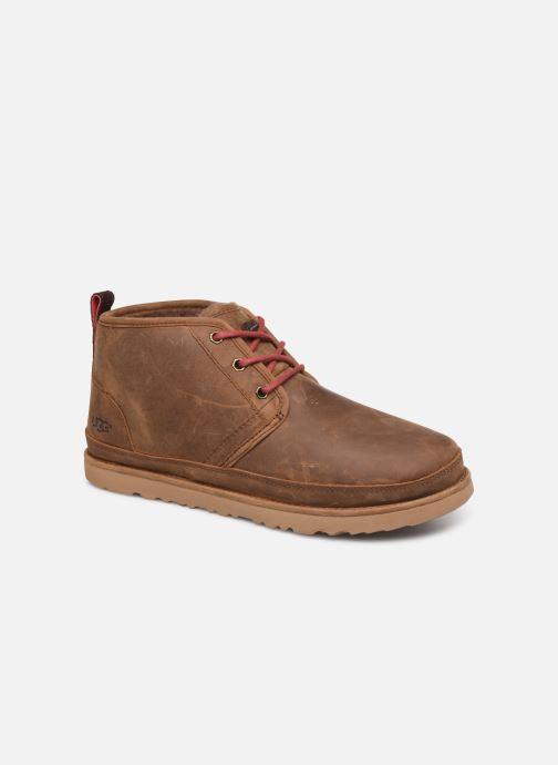 Bottines et boots UGG Neumel Waterproof Marron vue détail/paire