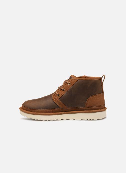Boots en enkellaarsjes UGG Neumel Zip Bruin voorkant