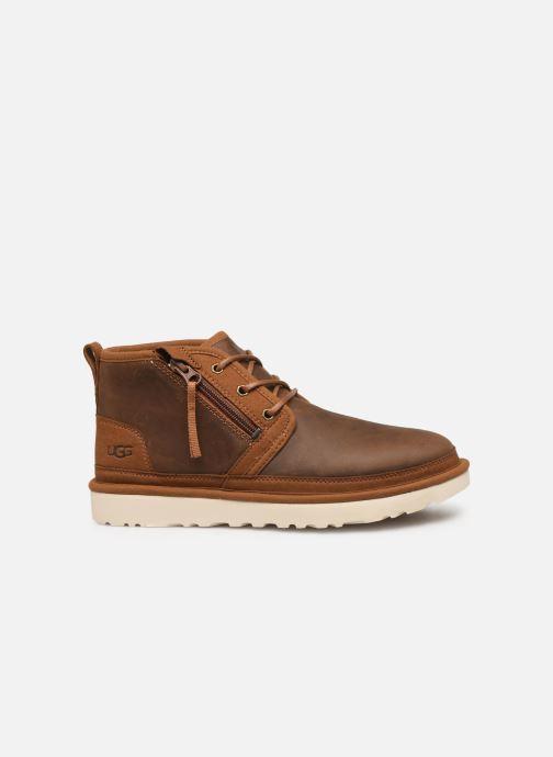 Boots en enkellaarsjes UGG Neumel Zip Bruin achterkant