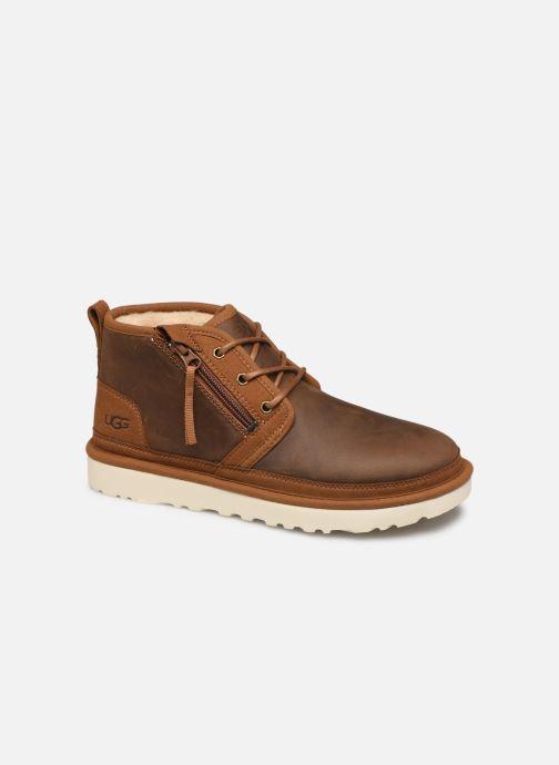 Boots en enkellaarsjes UGG Neumel Zip Bruin detail