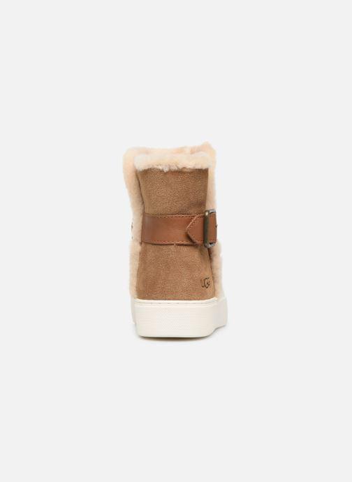 Bottines et boots UGG Aika Marron vue droite