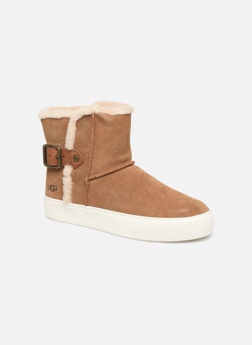 Bottines et boots UGG Aika Marron vue détail/paire