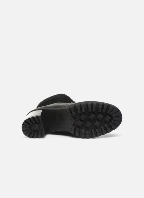Stiefeletten & Boots UGG Redwood schwarz ansicht von oben