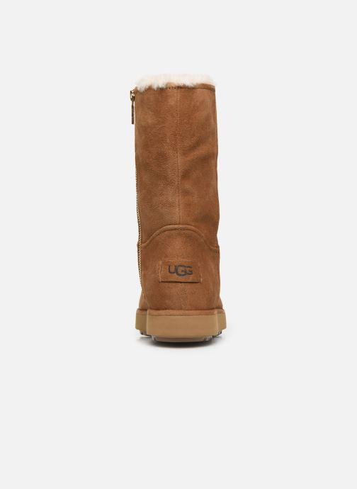 Stiefel UGG Classic Short BLVD braun ansicht von rechts