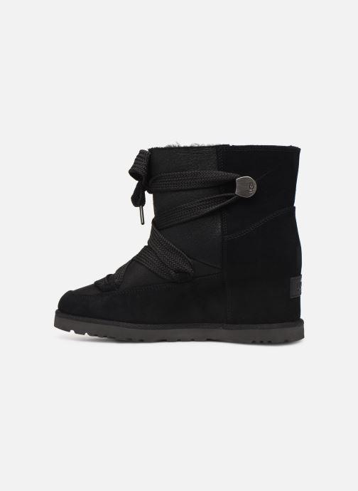 Bottines et boots UGG Classic Femme Lace-up Noir vue face
