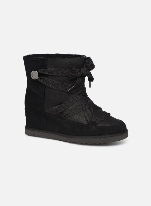 Bottines et boots UGG Classic Femme Lace-up Noir vue détail/paire