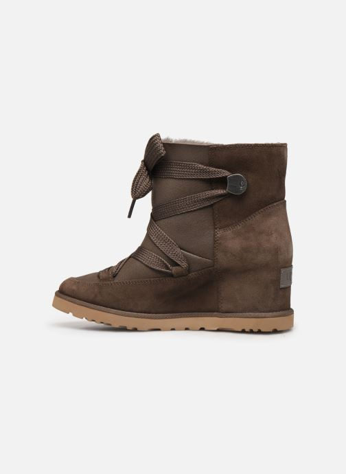 Botines  UGG Classic Femme Lace-up Marrón vista de frente