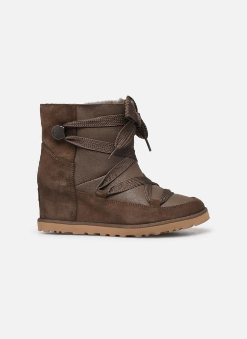 Botines  UGG Classic Femme Lace-up Marrón vistra trasera