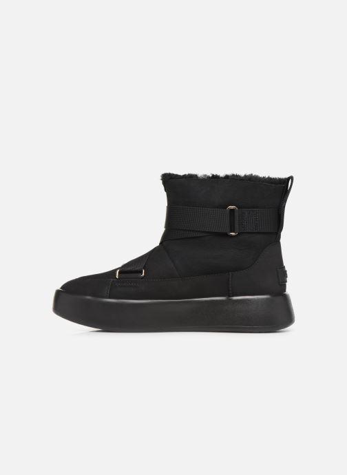 Stiefel UGG Classic Boom Buckle schwarz ansicht von vorne