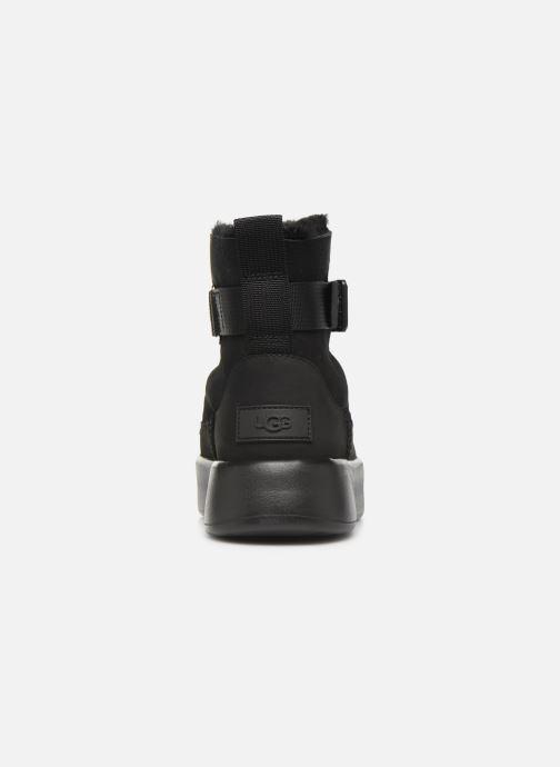 Stiefel UGG Classic Boom Buckle schwarz ansicht von rechts