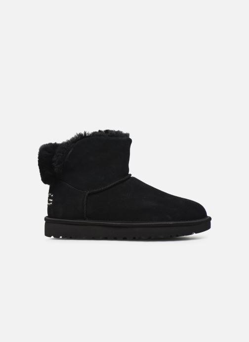 Boots en enkellaarsjes UGG Classic Bling Mini Zwart achterkant