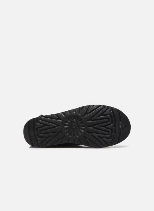 Bottines et boots UGG Classic Bling Mini Noir vue haut