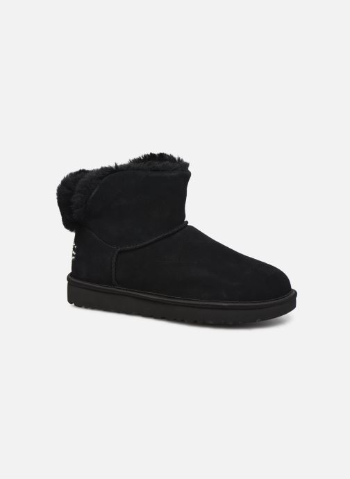 Ankle boots UGG Classic Bling Mini Black detailed view/ Pair view