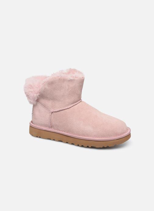 Bottines et boots UGG Classic Bling Mini Rose vue détail/paire