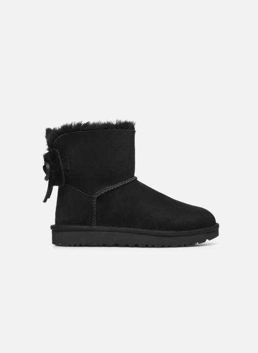 Stiefeletten & Boots UGG Classic Double Bow Mini schwarz ansicht von hinten