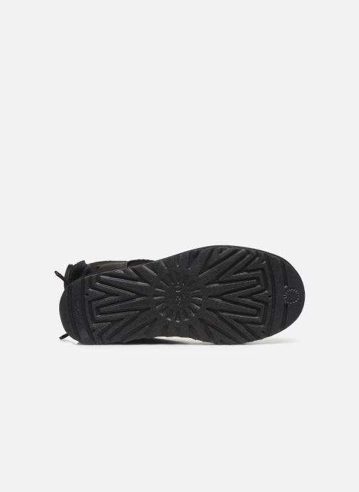 Stiefeletten & Boots UGG Classic Double Bow Mini schwarz ansicht von oben