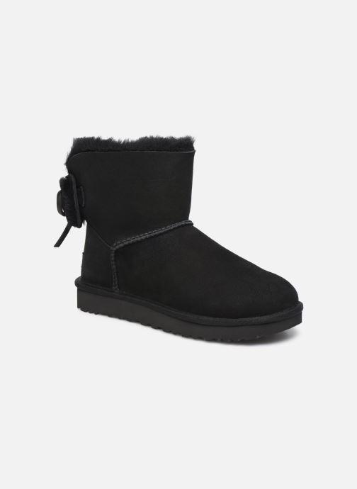 Stiefeletten & Boots UGG Classic Double Bow Mini schwarz detaillierte ansicht/modell