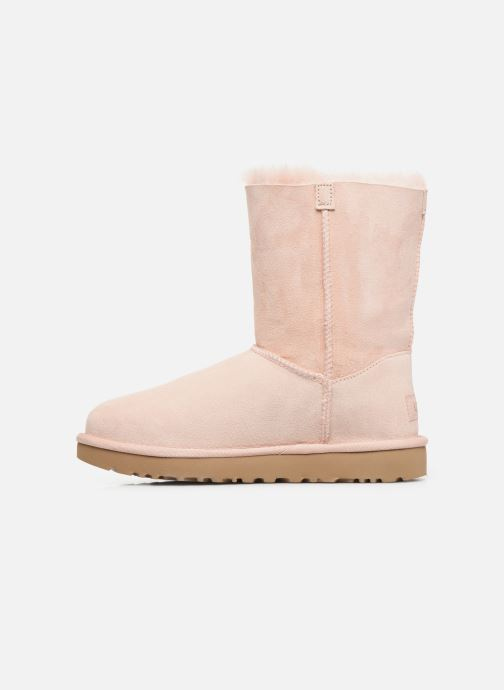 Stivali UGG Classic Short Charms Rosa immagine frontale