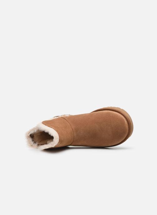Boots en enkellaarsjes UGG Classic Mini Fluff High-Low Bruin links