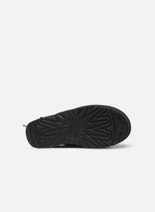 Stiefeletten & Boots UGG Classic Leopard Lined Bow schwarz ansicht von oben