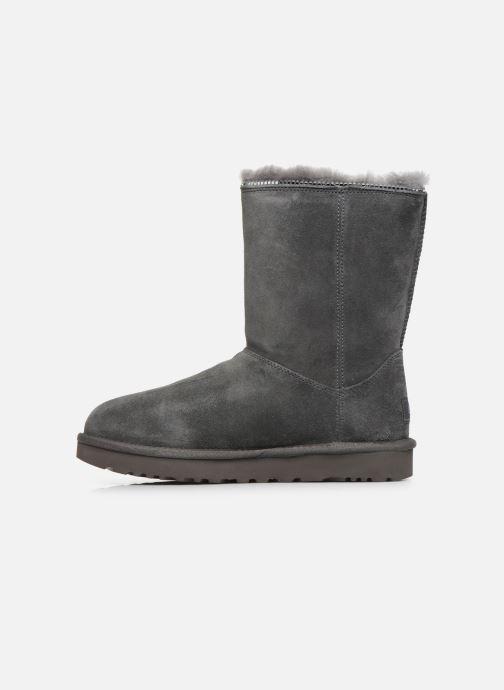 Stiefeletten & Boots UGG Classic Zip Boot grau ansicht von vorne